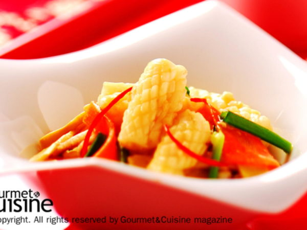 ยกเมนูเด็ดอาหารจีน มาไว้ที่บ้านด้วย เมนูปลาหมึกผัดหน่อไม้