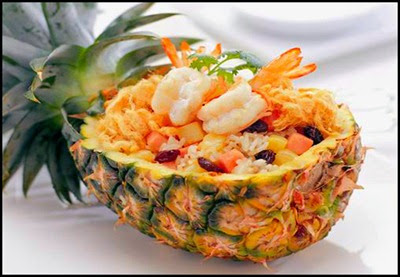 ข้าวอบสับปะรด