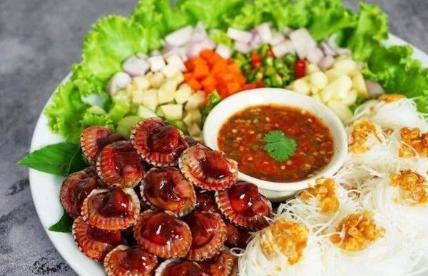เมนูอาหาร เมี่ยงหอยแครง กับน้ำจิ้มสุดแซ่บ อาหารซีฟู๊ดที่ขาดไม่ได้เลย