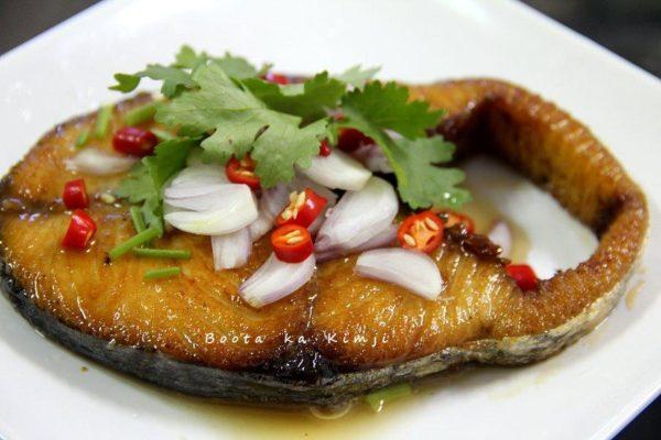 เคล็ดลับ ยำปลาอินทรีย์เค็ม เมนูอาหารทะเลแปรรูป