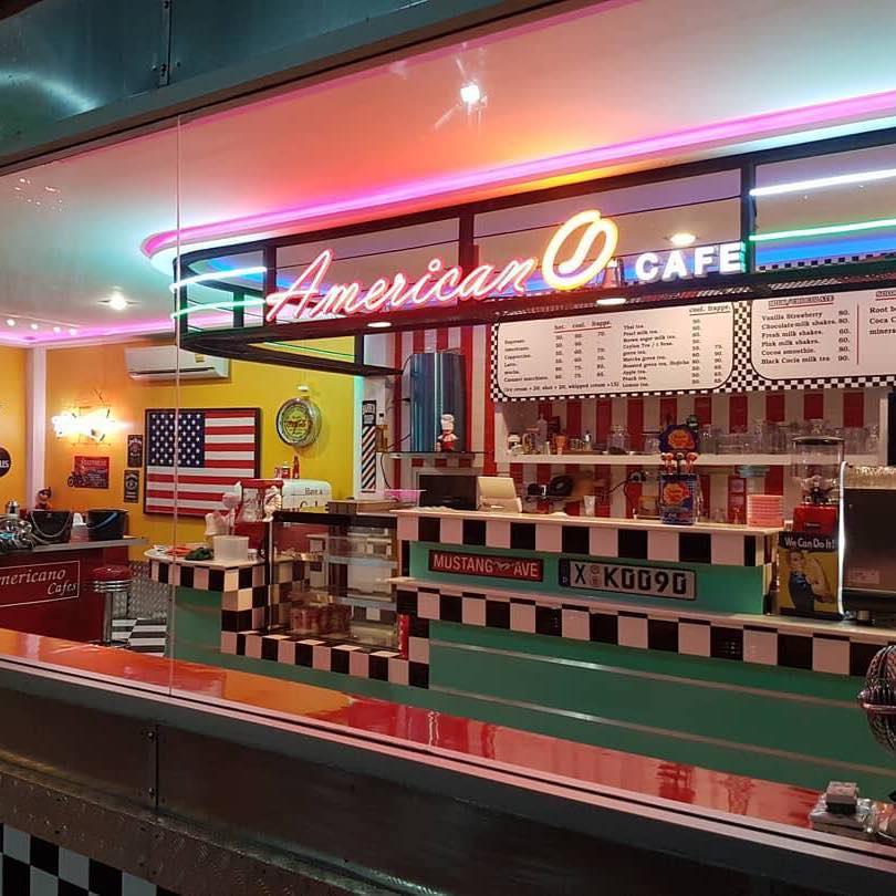คาเฟ่ชิล ๆ Americano cafe