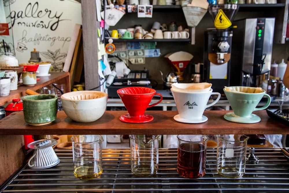 """Café ขนมอร่อย -Gallery กาแฟดริป"""""""