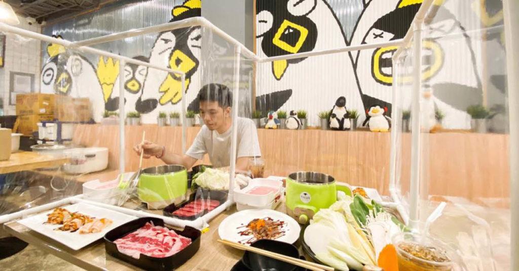 ร้าน Penguin Eat Shabu-บุปเฟ่ต์ในราคา 459 บาท