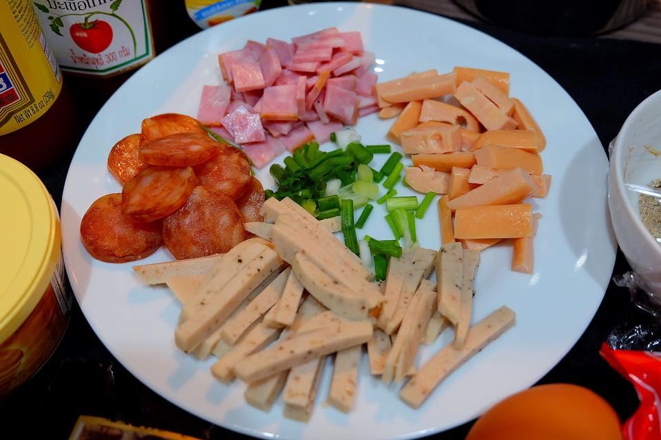 อาหารสไตล์เวียดนาม-ไข่กะทะ