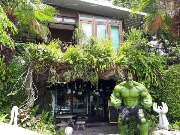 ร้าน Nine Cafe (ไนน์ คาเฟ่) กับร้านอาหารสุดอาร์ตย่านพุทธมณฑลสาย 1