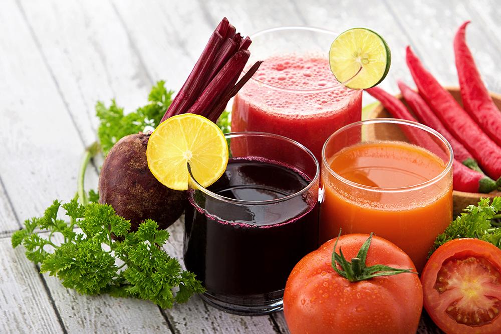 น้ำผลไม้สกัดเย็น ดื่มได้มีประโยชน์