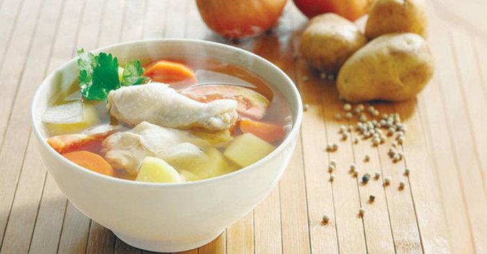 อาหารทานแก้หนาว-ซุปไก่ 2