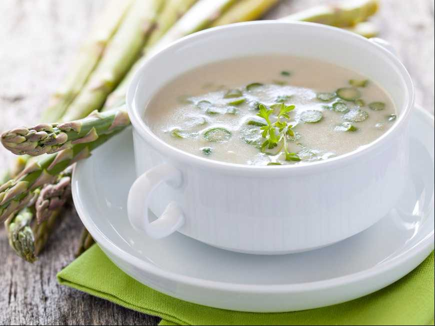 ซุปข้นหน่อไม้ฝรั่ง