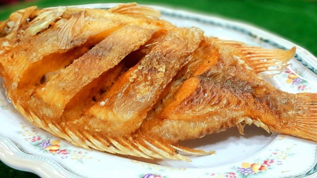 เคล็ดลับการทำ  เมนู ปลาทับทิมราดพริก